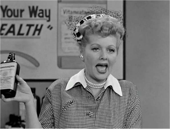 "9. <a href=""http://www.cbs.com/shows/i_love_lucy/"">Lucy's</a> Commercial Debut"