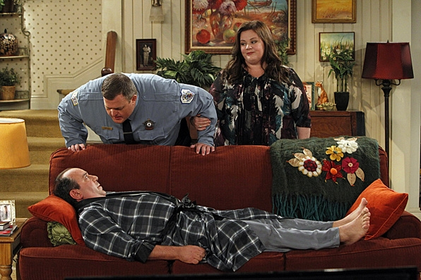 12. <i>Mike & Molly's</i> Couch