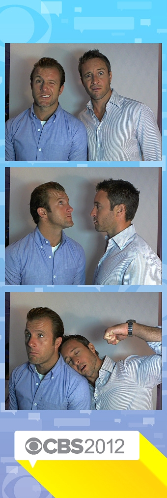 Scott Caan and Alex O'Loughlin