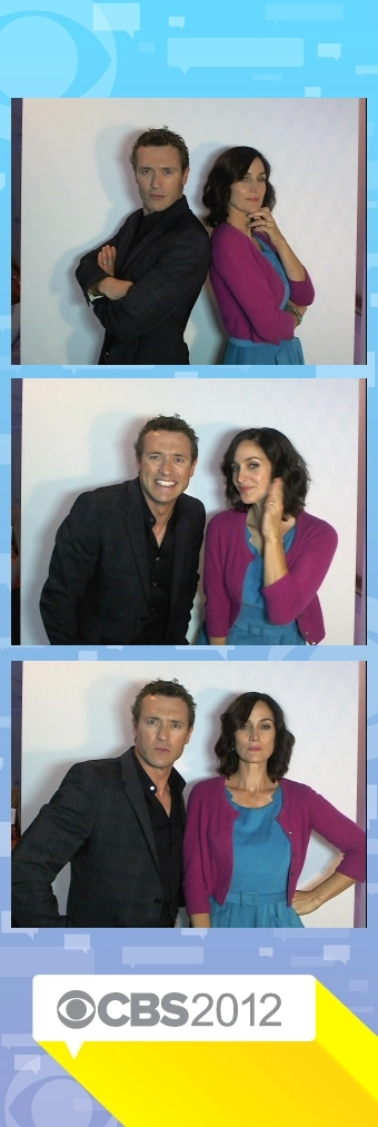 Carrie Ann Moss and Jason O'Mara