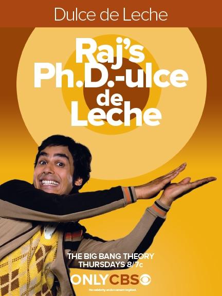 Raj's Ph.D.-ulce de Leche
