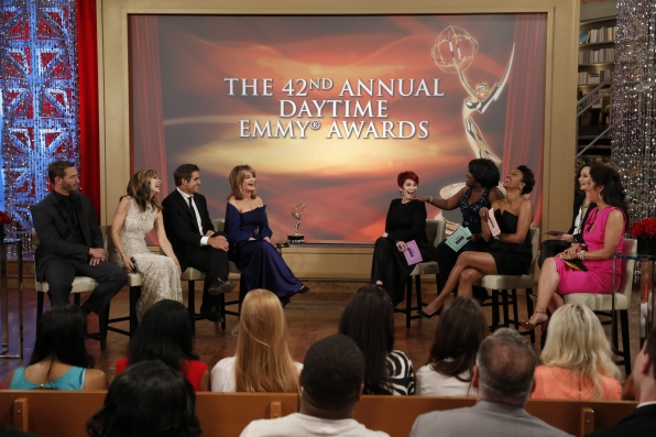 """Days of Our Lives"" Stars at THE TALK's Daytime Emmy ""After-Party"""