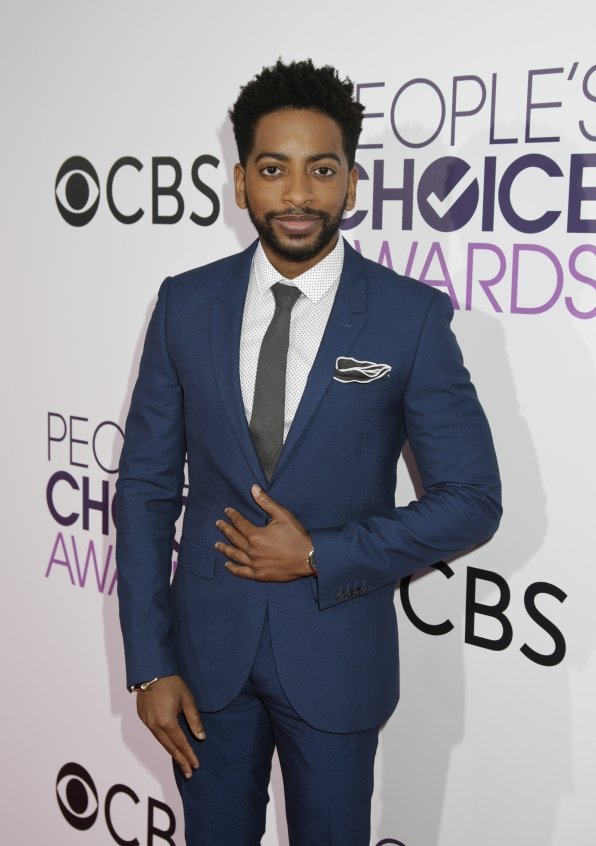 Shaun Brown of the Great Indoors donned a crisp blue suit, complemented by a gray tie and pocket square.
