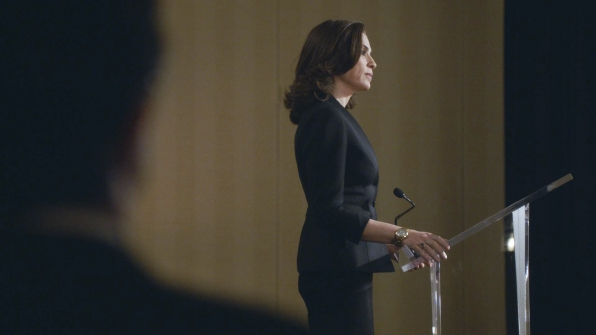 11. All Eyes on Alicia While Delivering the Keynote Address at The ABA.