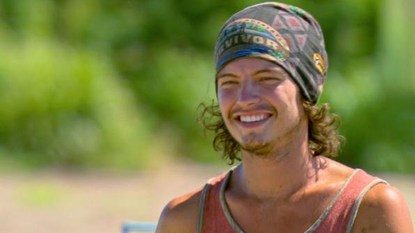Unwashed castaway: Jay Starrett