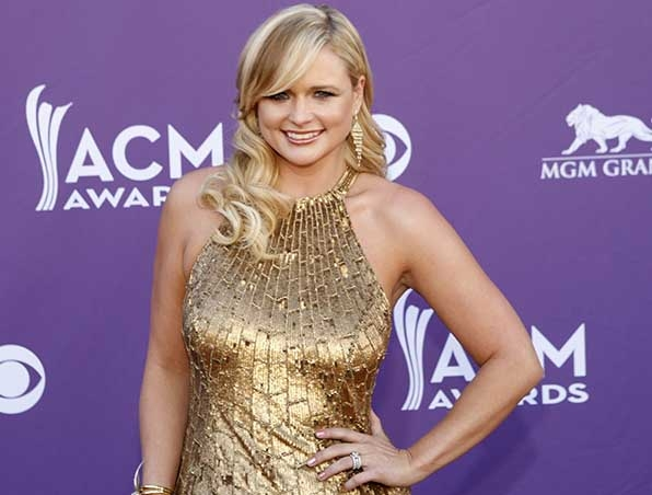 Miranda Lambert looked good as gold at the 47th Annual Academy of Country Music Awards.