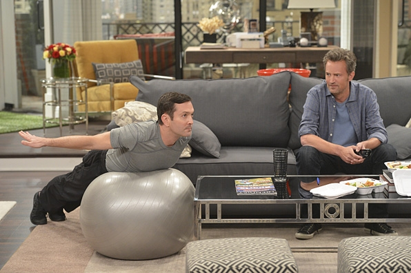 15. <i>The Odd Couple</i> couch
