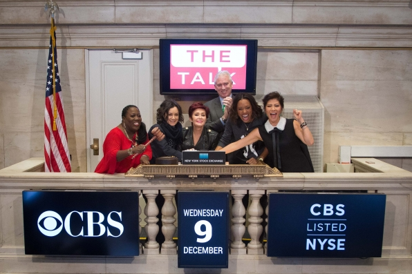 The Talk Takes The NYSE