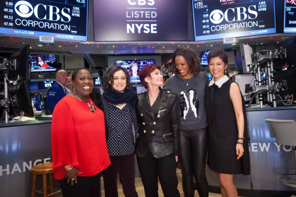 All smiles on the NYSE floor