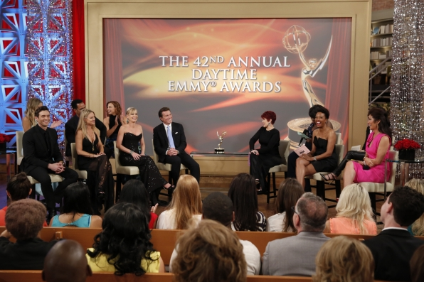 """The Young and the Restless"" Stars at THE TALK's Daytime Emmy ""After-Party"""