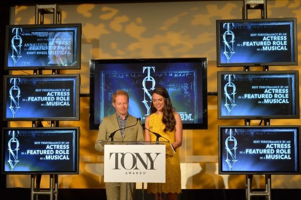 Actors Jesse Tyler Ferguson and Sutton Foster