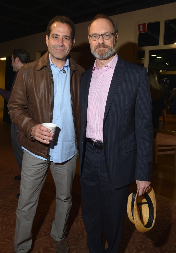 Tony Shalboub and David Hyde Pierce