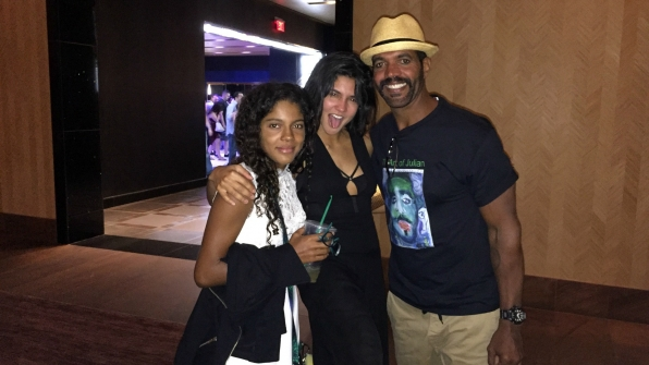 Kristoff St. John (Neil Winters) celebrated his birthday in Las Vegas with his daughters, Paris and Lola.