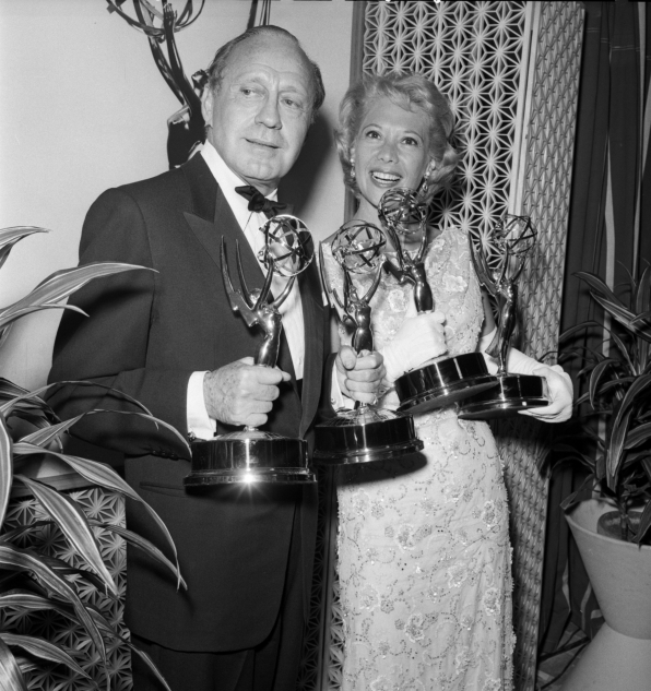 Jack Benny and Dinah Shore