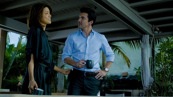 Kono and Adam (Hawaii Five-0)