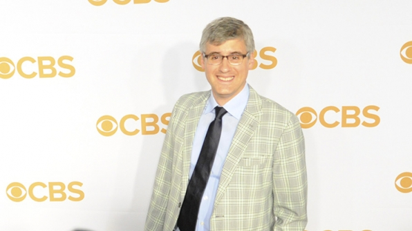 Mo Rocca rocked the gold carpet in pale plaid.