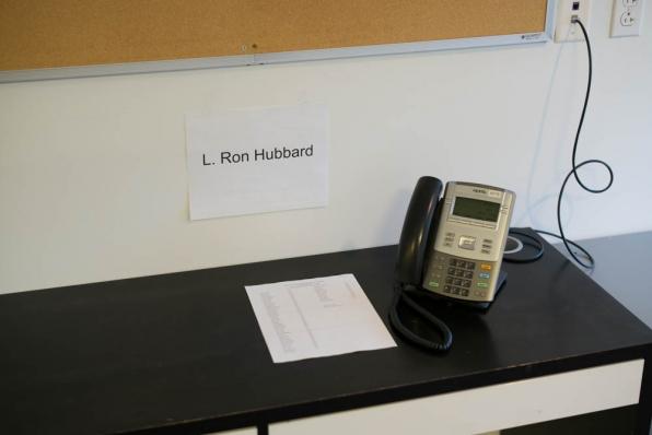 We've also set aside a desk for Elijah.