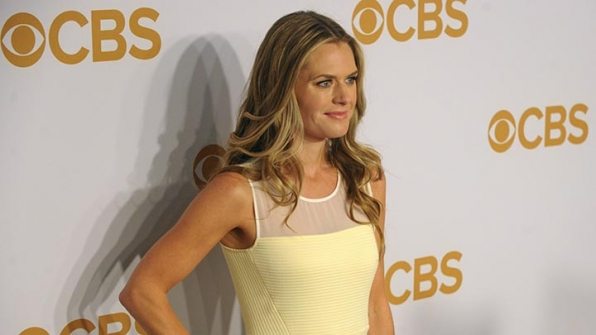 Maggie Lawson was mellow in yellow on the gold carpet.