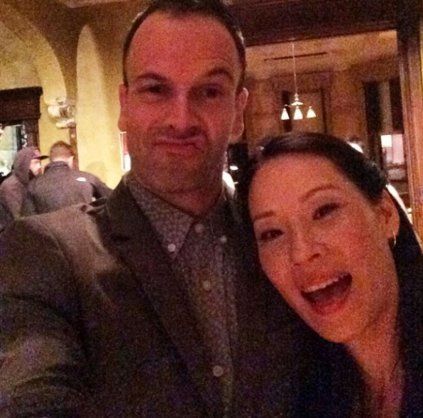 Elementary Instagram: Hey #Elementary fans, we are taking over... #selfie