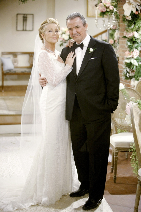 Nikki Reed and Victor Newman remarried for the third time on Y&R's 40th anniversary in 2013.
