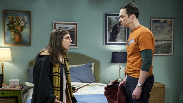 Tensions run high when Sheldon learns how Amy came across their new threads.