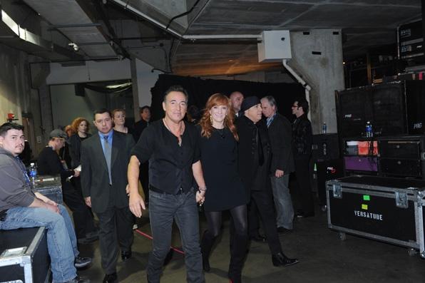 1. Bruce Springsteen, Patty Scialfa, Little Steven Van Zandt