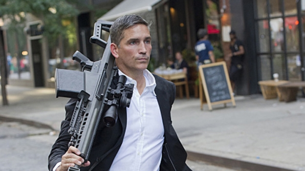 Sending a message about stealing? John Reese intimidation.
