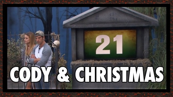 "Question: Which Houseguests rolled a 21 in ""Gravestone Golf""?"