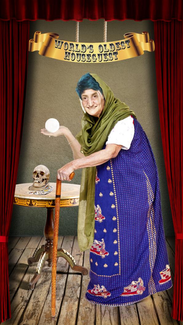 World's Oldest Houseguest