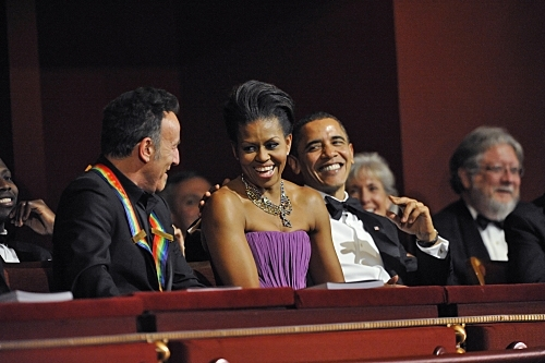 President and Mrs Obama