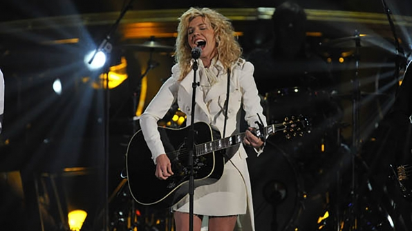 """28. The Band Perry perform """"If I Die Young"""" at the 46th ACM Awards in 2011."""