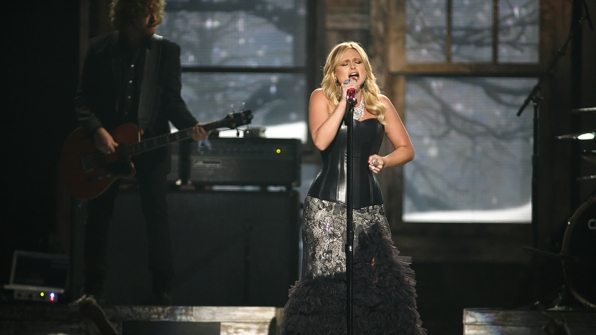 "19. Miranda Lambert performs ""Over You"" at the 47th ACM Awards in 2012."