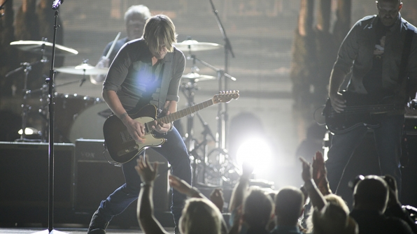 "29. Keith Urban performs ""For You"" at the 47th ACM Awards in 2012."