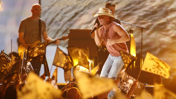"37. Kenny Chesney performs ""Pirate Flag"" at the 48th ACM Awards in 2013."