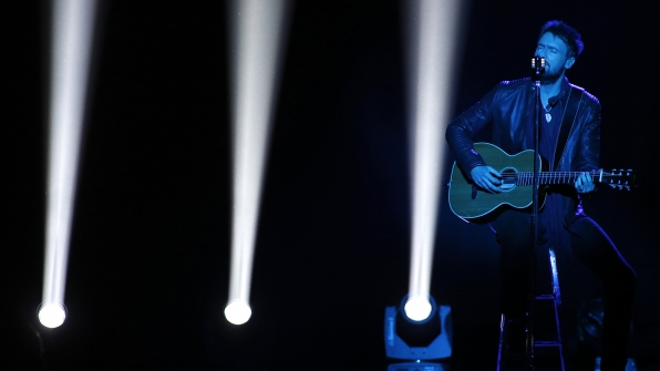 "39. Eric Church performs ""Like Jesus Does"" at the 48th ACM Awards in 2013."