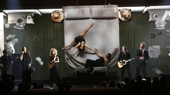 "24. Little Big Town perform ""Your Side Of The Bed"" at the 48th ACM Awards in 2013."