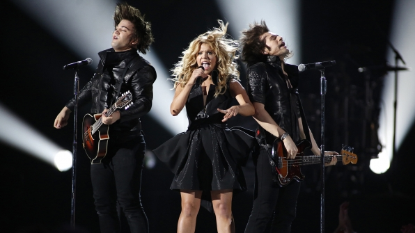 "35. The Band Perry perform ""DONE."" at the 48th ACM Awards in 2013."
