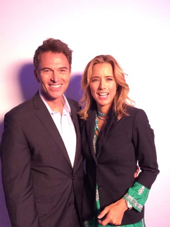 Tim Daly and Téa Leoni