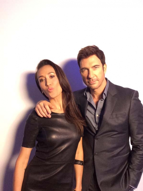 Maggie Q and Dylan McDermott - Stalker