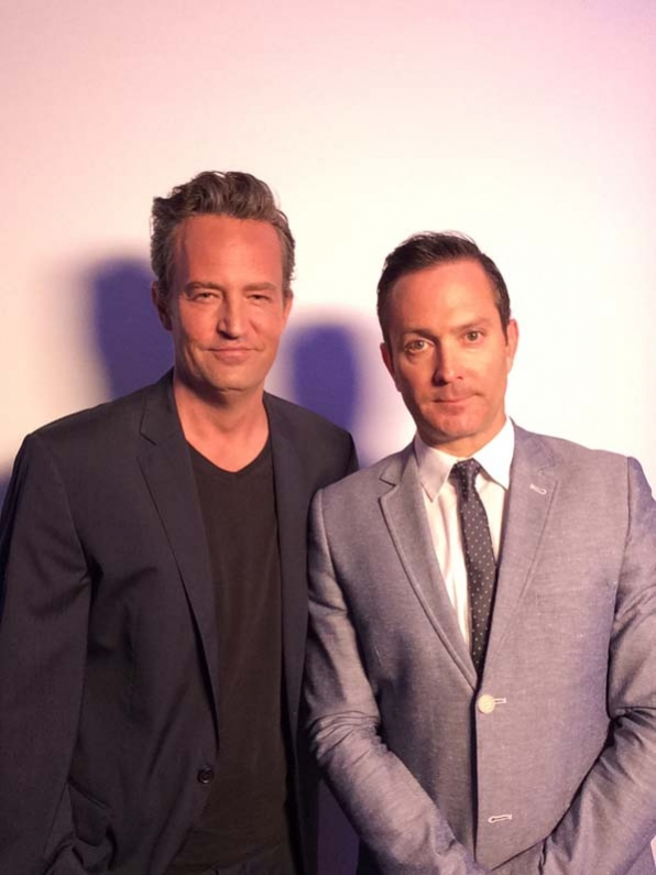 Matthew Perry and Thomas Lennon - The Odd Couple