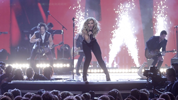 "21. The Band Perry perform ""Chainsaw"" at the 49th ACM Awards in 2014."