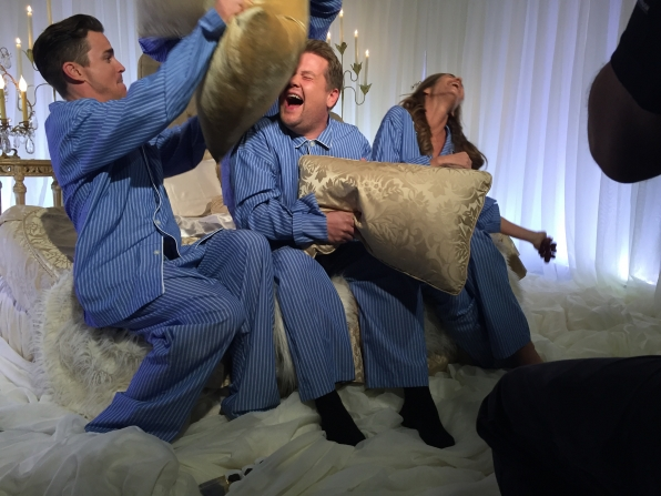 More pillow fight.