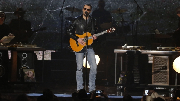 "15. Eric Church performs ""Record Year"" at the 51st ACM Awards in 2016."