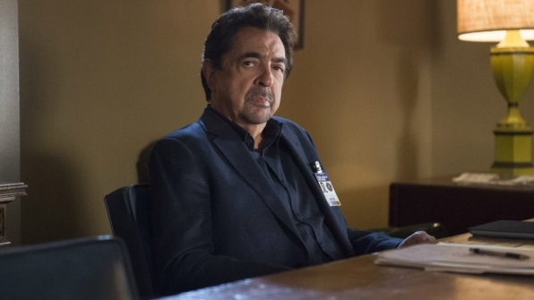 David Rossi is deep in thought.