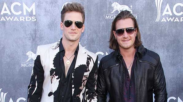 Florida Georgia Line looked amazing in aviators at the 49th Annual Academy of Country Music Awards.