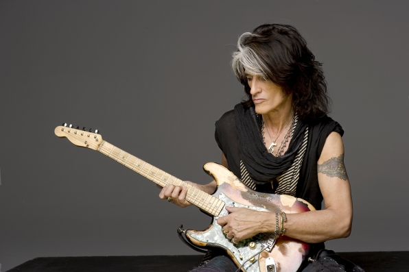 Rock Legend Joe Perry Plays for CSI!