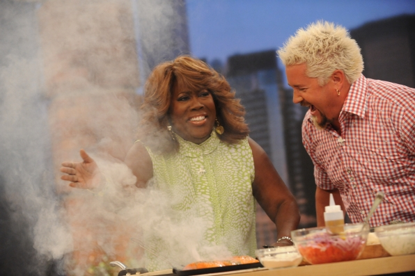In The Kitchen With Guy Fieri.