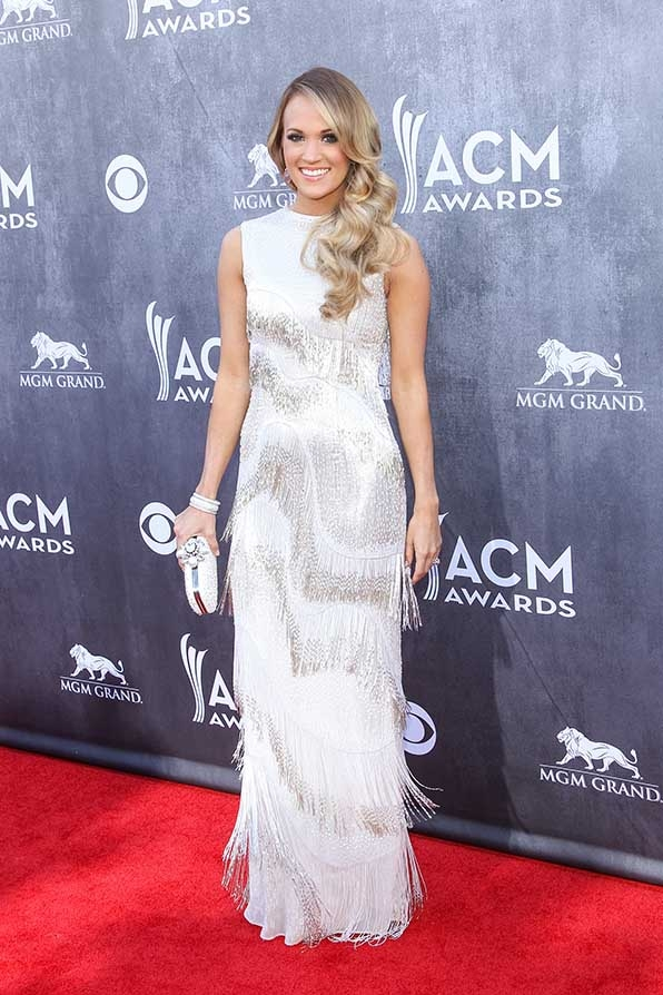 Carrie Underwood was a fringe fantasy the 49th Annual Academy Of Country Music Awards.
