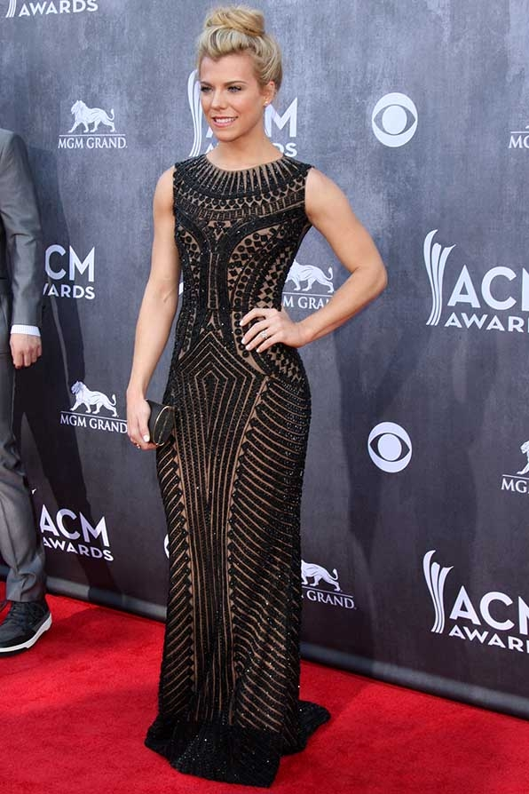 Kimberly Perry was a beaded beauty at the 49th Annual Academy of Country Music Awards.