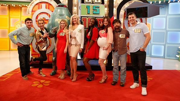Ian Terry, Frankie Grande, Britney Haynes, Janelle Pierzina, Da'Vonne Rogers, Rachel Reilly, James Huling, and Jeff Schroeder from Big Brother